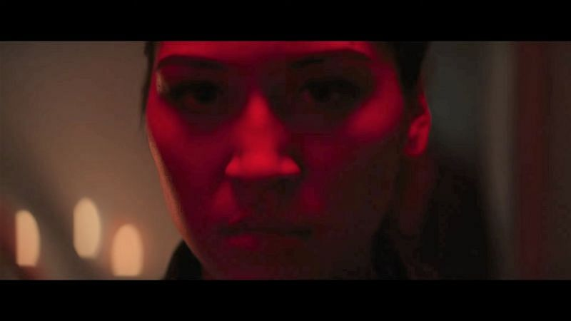 Alaqua Cox as Maya Lopez (Echo) in Hawkeye (Image via Marvel Studios)