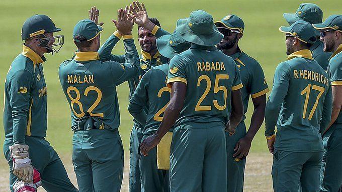 दक्षिण अफ्रीका की टीम ने सीरीज का दूसरा एकदिवसीय जीता था