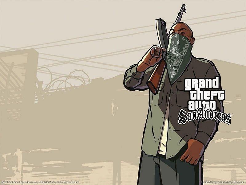 GTA San Andreas को एंड्रॉइड डिवाइस पर खेल सकते हैं (Image credit: GTA San Andreas)