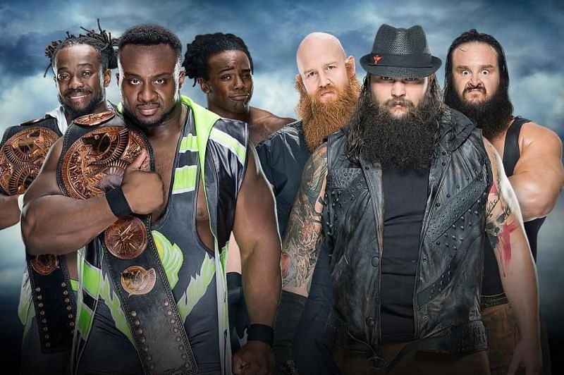 Big E and Bray Wyatt in WWE