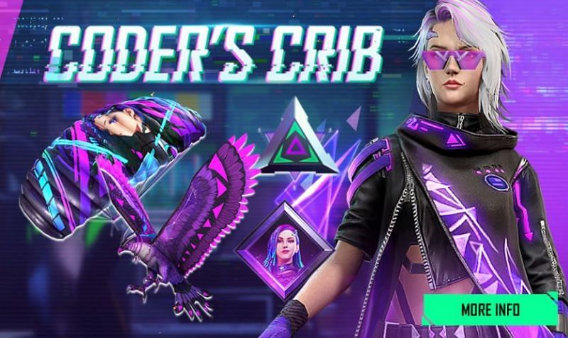 The Coder's Crib event features a wide variety of rewards