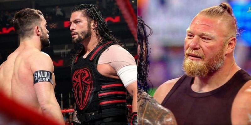 WWE SmackDown में रोमन रेंस और फिन बैलर के मैच में ब्रॉक लैसनर का अहम किरदार रह सकता है