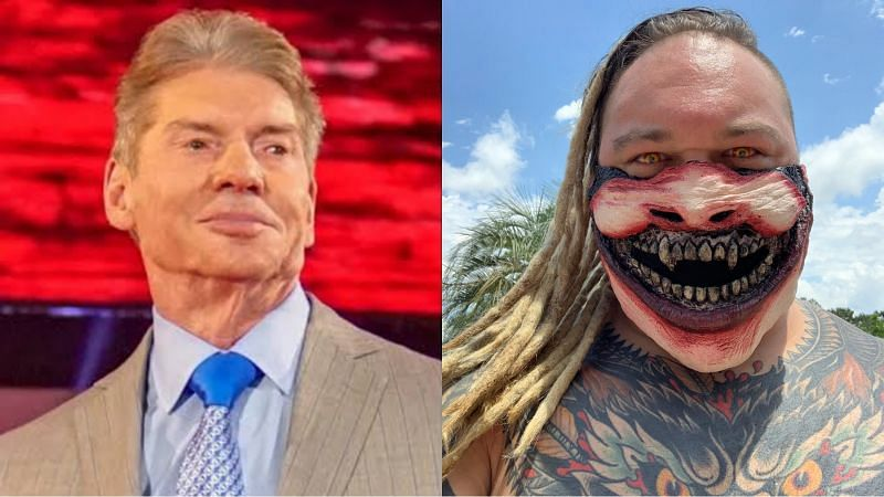 Vince McMahon (left) and Bray Wyatt (right)