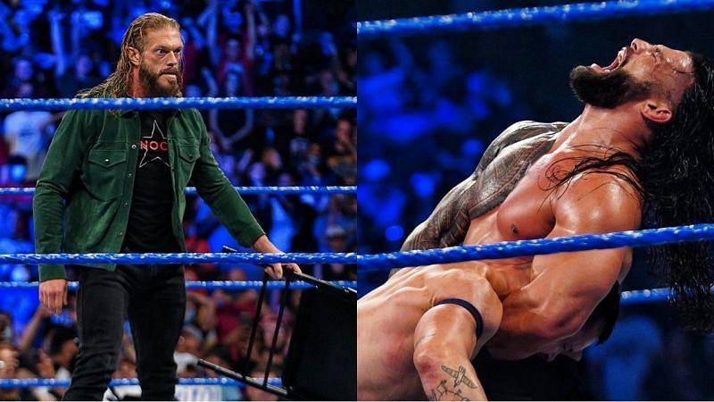 WWE लैजेंड ऐज और यूनिवर्सल चैंपियन रोमन रेंस