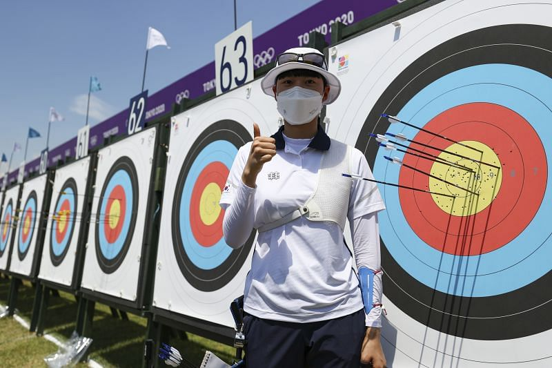 An San (South Korea) at Tokyo Olympics 2021