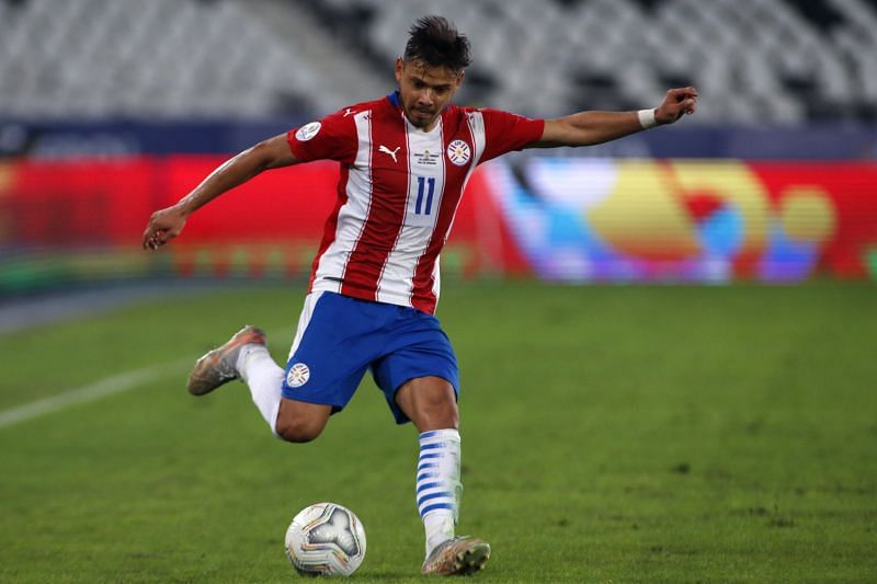 Angel Romero has been Paraguay's best player in the World Cup qualifiers