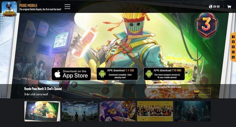 Er zijn twee verschillende APK-bestanden beschikbaar voor de PUBG Mobile 1.6-update (afbeelding via PUBG Mobile)