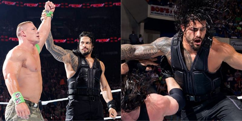 WWE में रोमन रेंस और जॉन सीना ने टैग टीम में साथ भी काम किया है