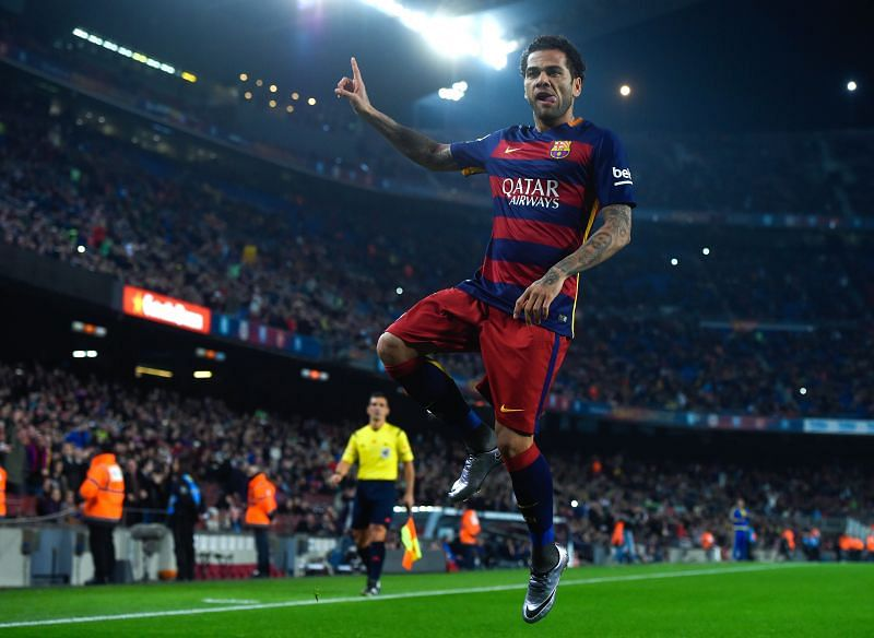 Dani Alves has excelled for both club and country