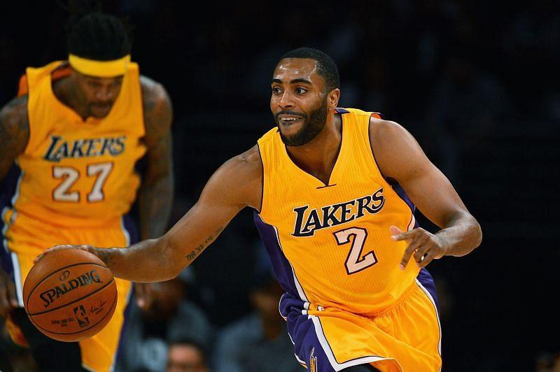 Wayne Ellington with the LA Lakers in 2014.