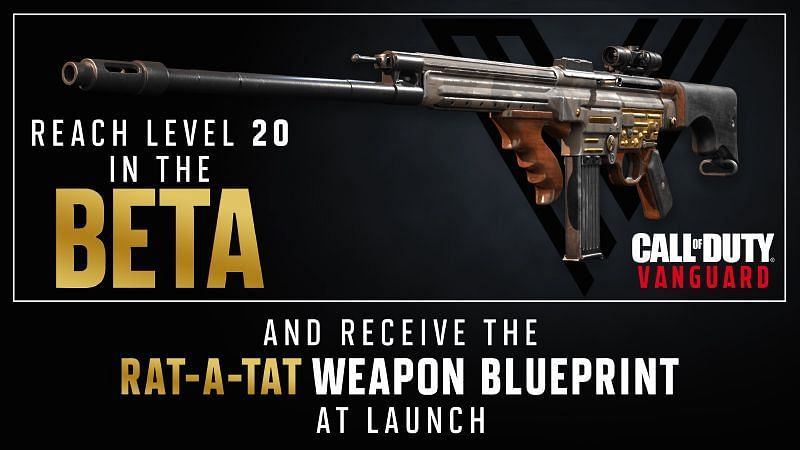 Leveling in the Beta merits a reward in Vanguard (Image via Activision)