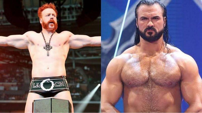 WWE सुपरस्टार्स शेमस और ड्रू मैकइंटायर