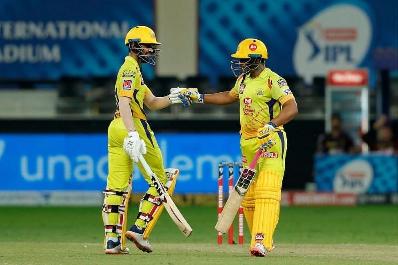 Ruturaj Gaikwad (L) has been impressing in the IPL, while Suresh Raina will be hoping to regain his mojo. (Credit:Outlook India)