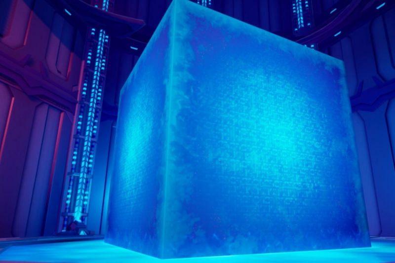 Blevin the Cube in Fortnite Chapter 2 Season 8 (Image via Krypt/Twitter)