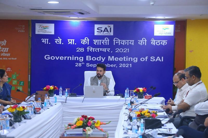 Union Sports Minister at the SAI General Body meeting on Tuesday.