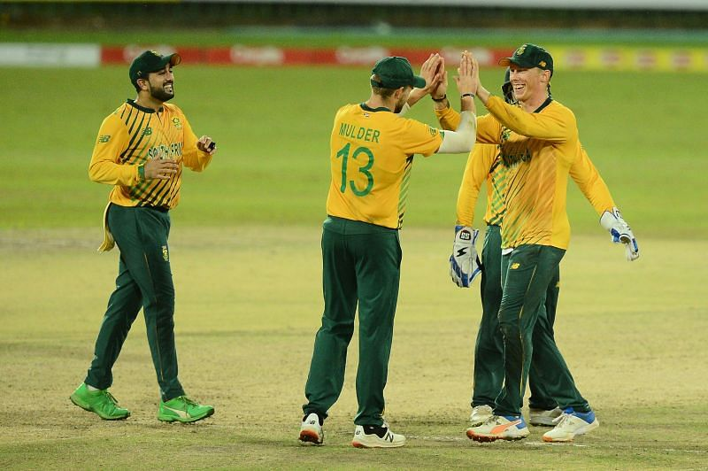 The Proteas white wash the Sri Lankans in the 3 match T20I series