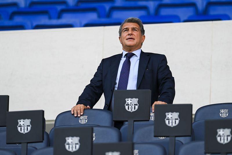 FC Barcelona president Joan Laporta