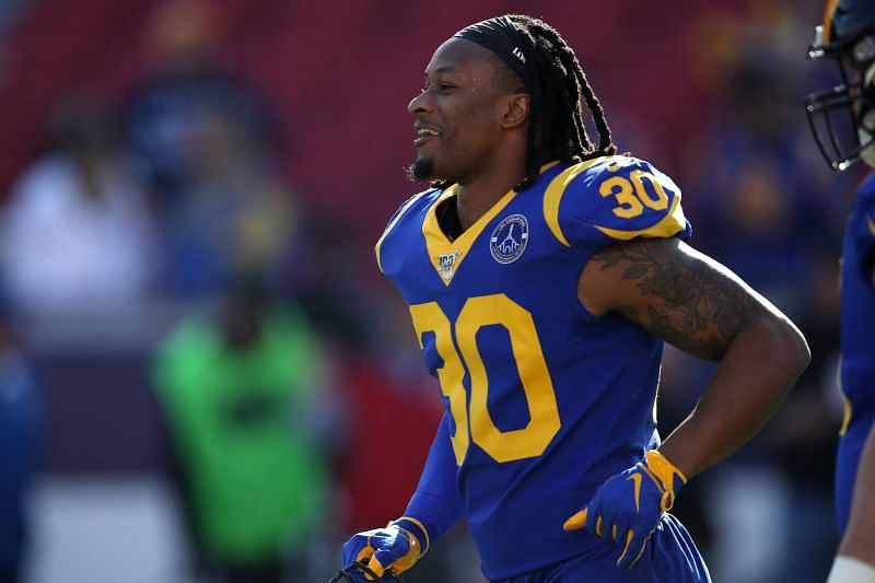 Todd Gurley is one running back the San Fransisco 49ers could target