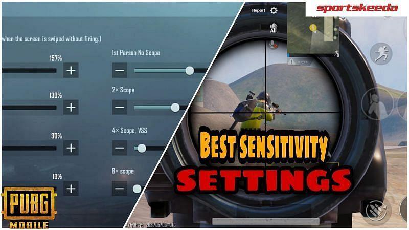 PUBG Mobile sensitivity settings for thumb players (Image via Sportskeeda)
