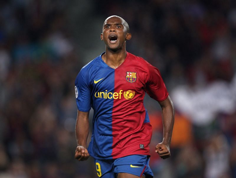 Eto'o has spent time with both Real Madrid and Barca
