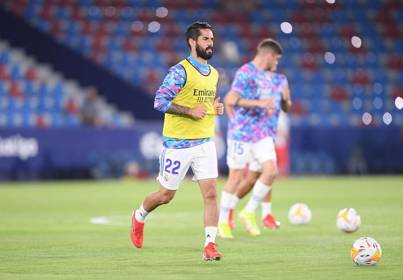 Barcelona are keeping a close eye on Isco.