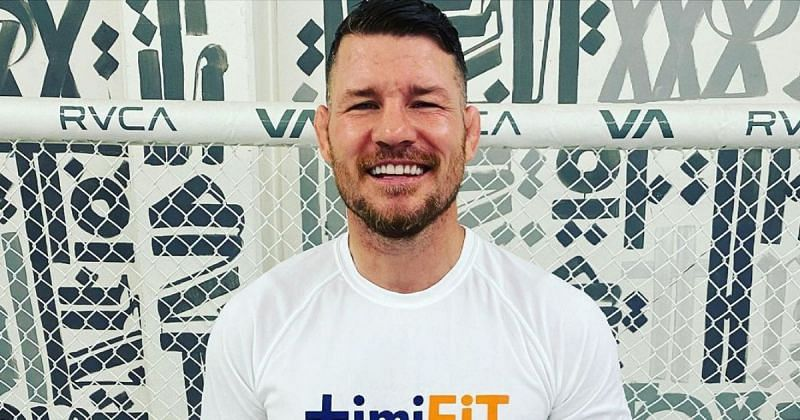 Michael Bisping [Image Courtesy: @mikebisping on Instagram]