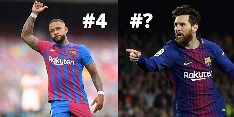 Depay and Messi were among the most high-profile free transfers this summer
