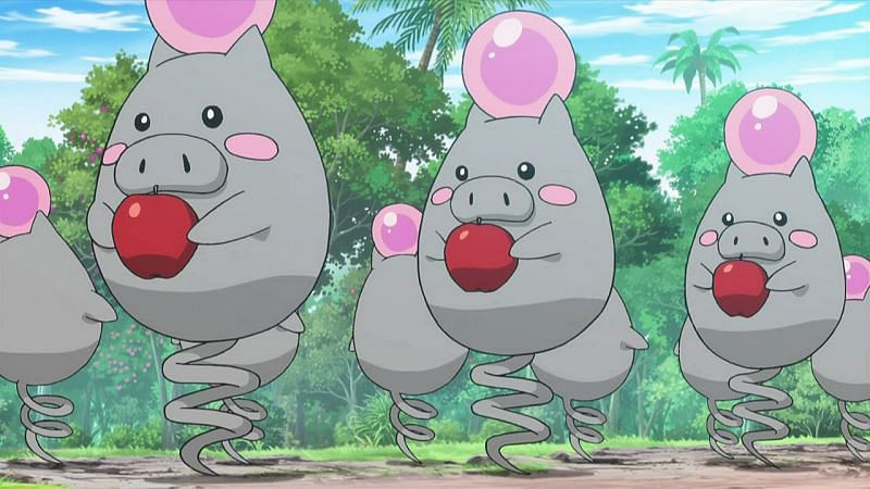 Spoink's Pokedex entry reveals that it will perish if it stops bouncing (Image via The Pokemon Company)