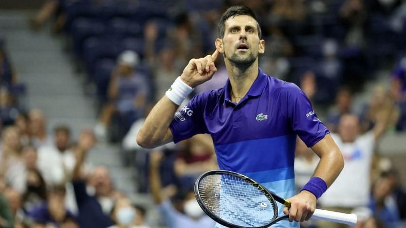 History beckons Novak Djokovic in tonight's final