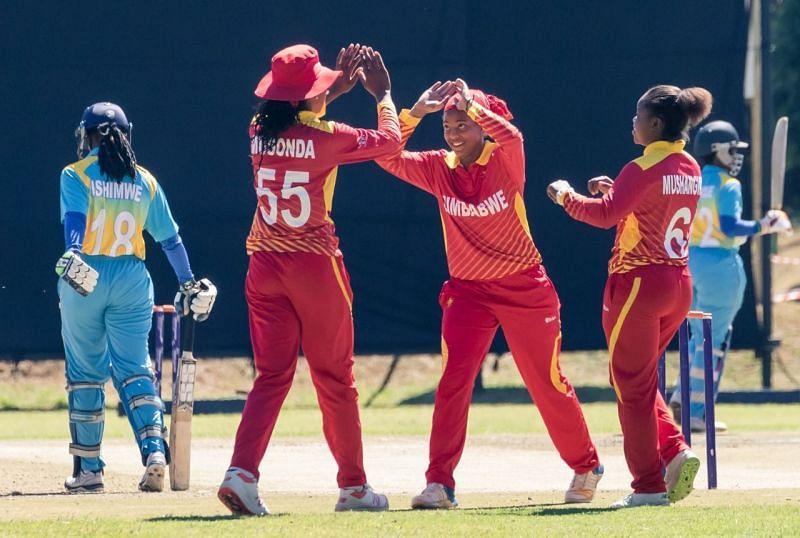 Zimbabwe Women Cricket Team- Courtesy ICC