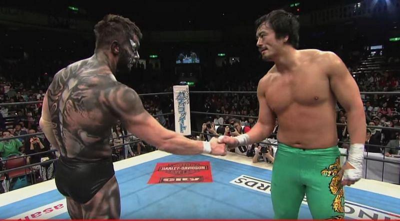 Prince Devitt vs Ryusuke Taguchi is still talked about as a ground-breaking match in NJPW