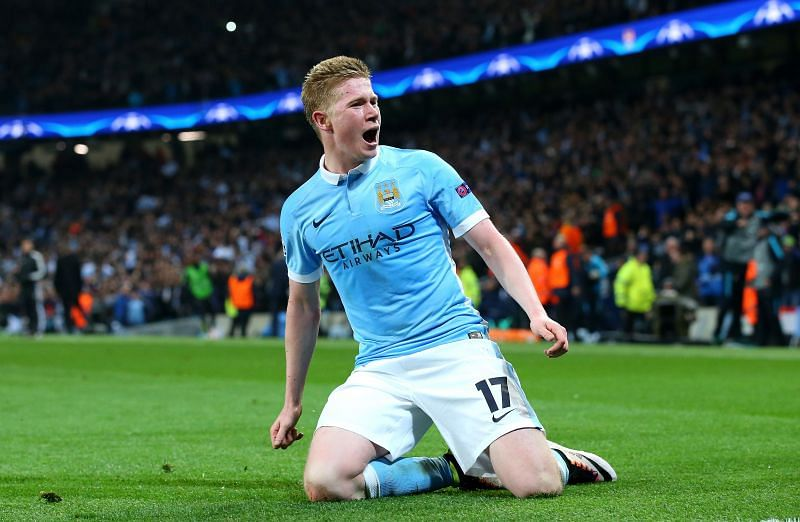 De Bruyne is now valued at €100m