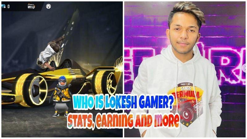 Free Fire में Lokesh Gamer कौन है, उनके स्टैट्स, कमाई, यूट्यूब चैनल और अन्य जानकरी