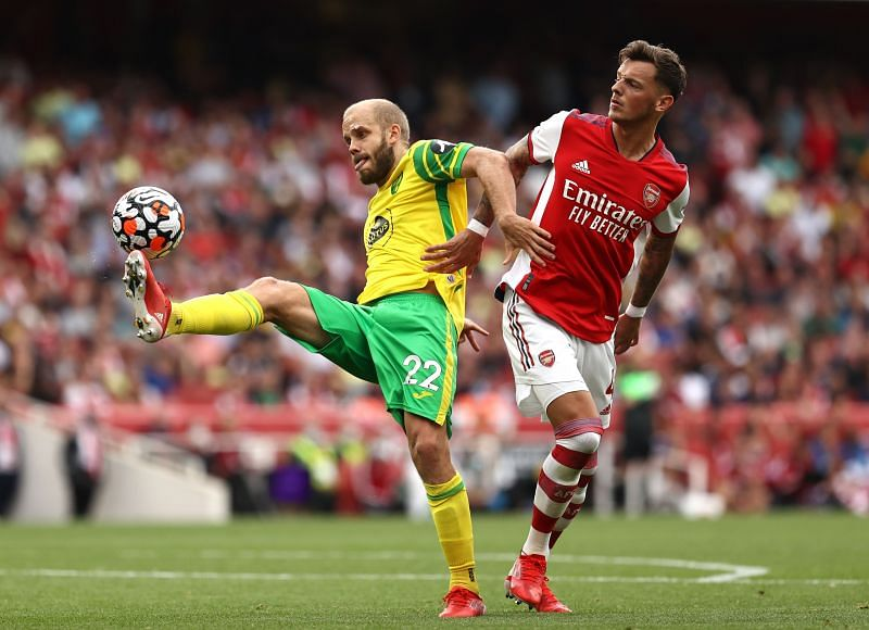 Ben White has played three games for Arsenal this season