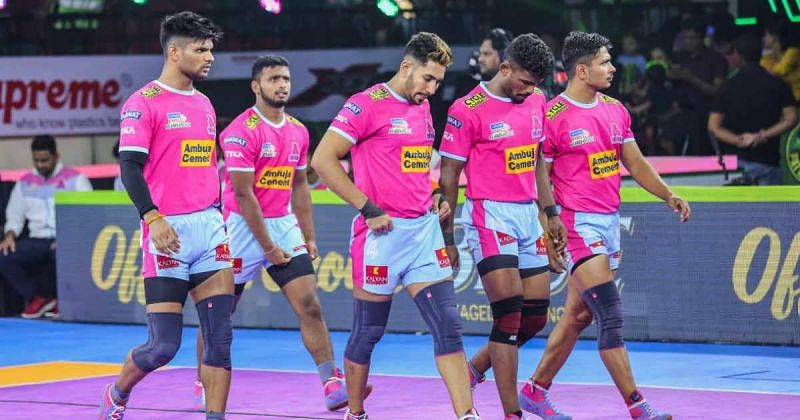 Jaipur Pink Panthers have managed to retain a total of nine players from their PKL Season 7 Squad (Image - Jaipur Pink Panthers)