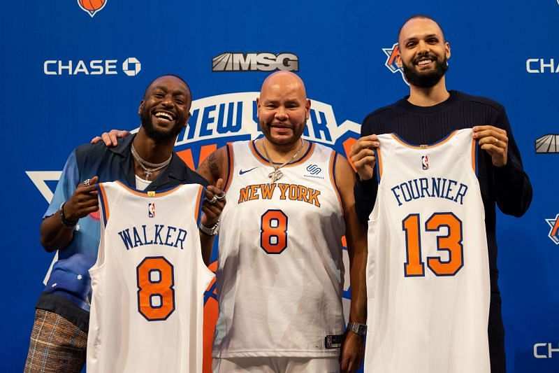New York Knicks Introduce New Signees