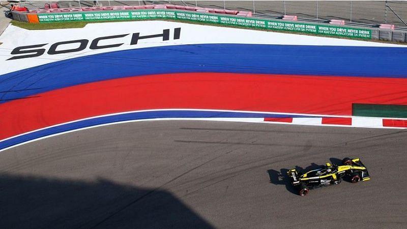 The Sochi Autodrome will host its penultimate Russian Grand Prix in . Credits: CFP