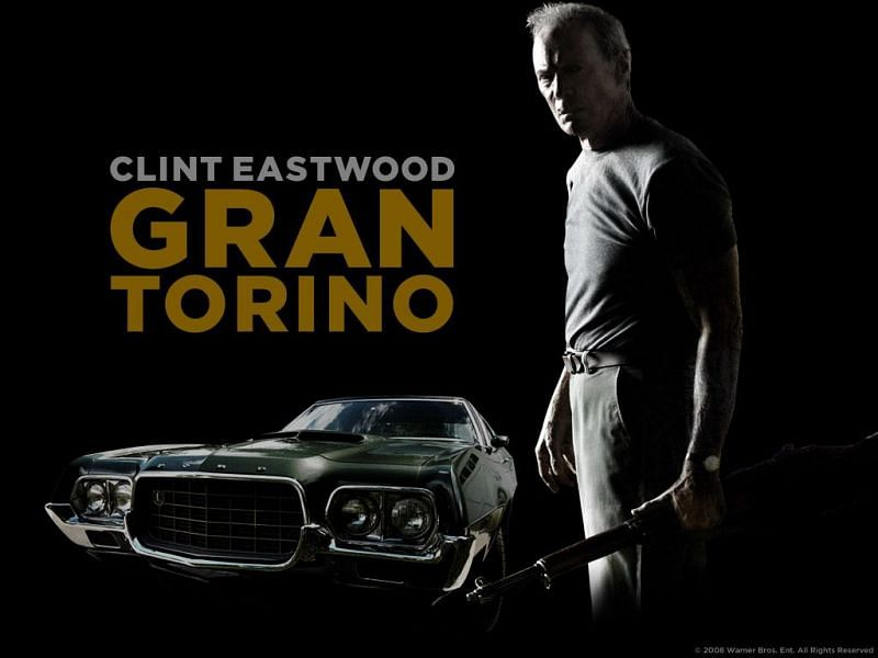Clint Eastwood in Gran Torino official poster (Image via Twitter)