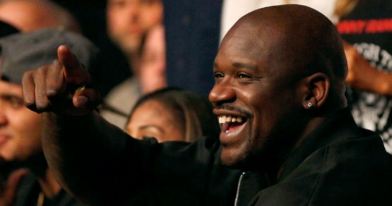 Former NBA superstar Shaquille O'Neal is often seen at UFC events