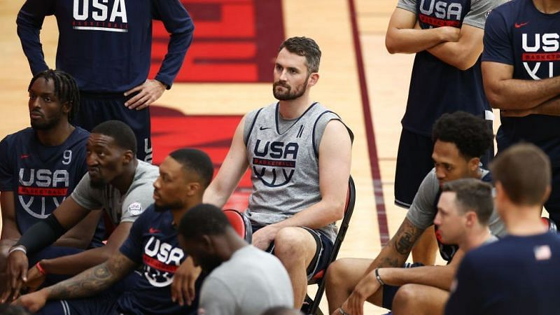 Team USA at the training camp [Source: NBC Sports]
