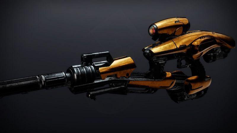 Exotic raid Fusion Rifle, Vex Mythoclast (Image via Bungie)