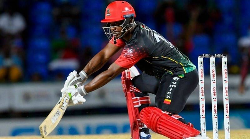 Evin Lewis (in picture) and Chris Gayle gave the perfect start to the chase