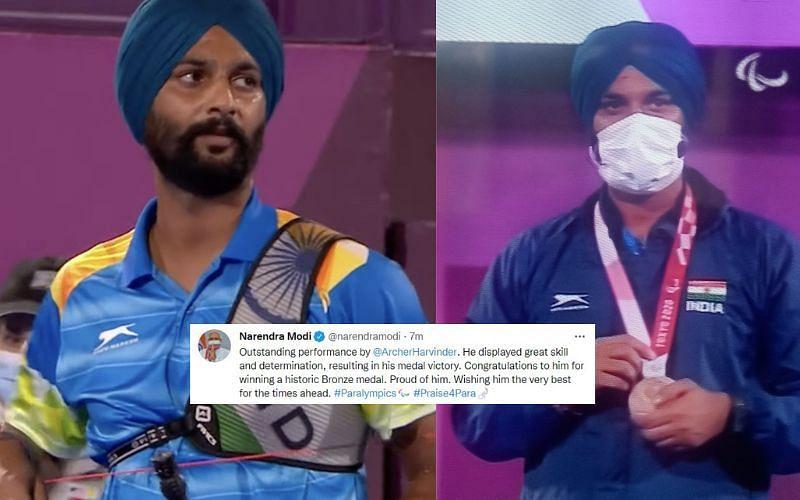 Indian archer Harvinder Singh wins bronze medal in archery