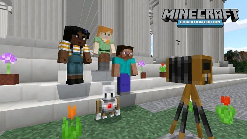 Education Edition allows Minecraft players to experience a ton of new things (Image via Minecraft)
