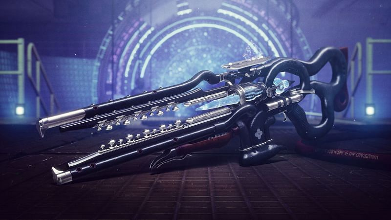 Newest exotic Linear Fusion Rifle, Ager's Scepter (Image via Bungie)