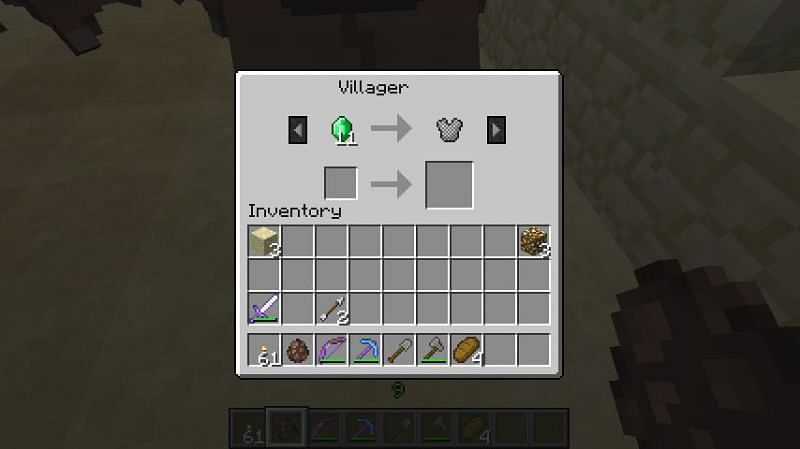 Chainmail armor is pretty rare in Minecraft, even though it's not particularly strong. (Image via Mojang)