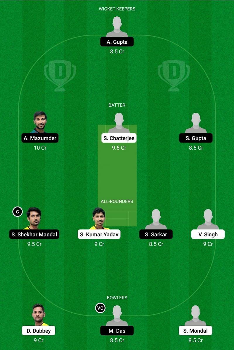 Bengal T20 - BB vs KW Dream11 Team - 2