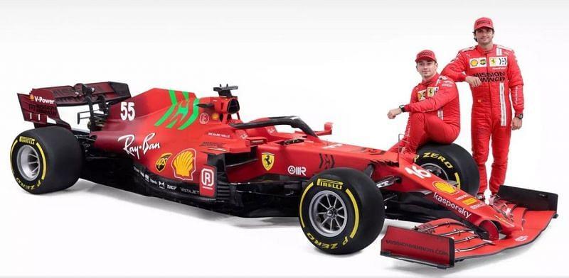 Charles Leclerc and Carlos Sainz Source: Ferrari