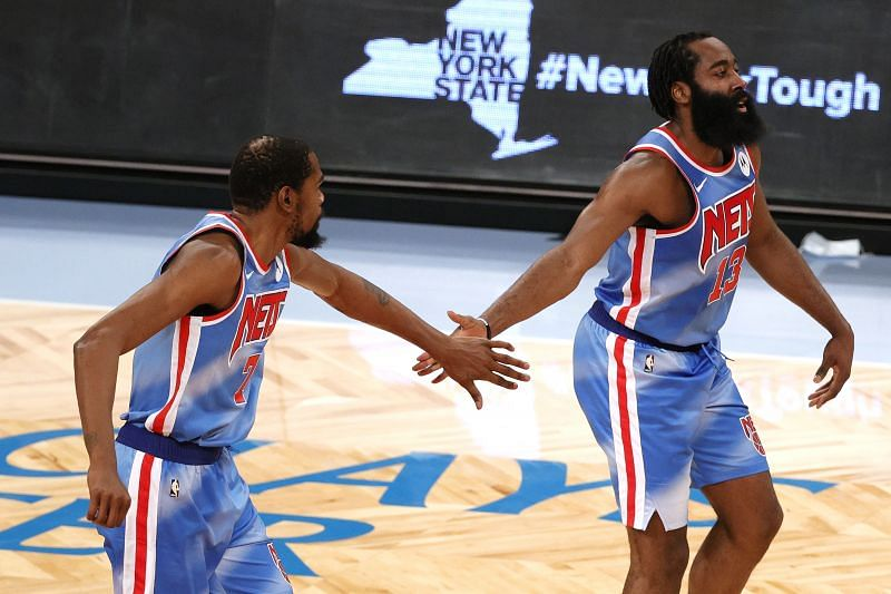 Both Kevin Durant and James Harden are the best players in their positions in NBA 2K22.