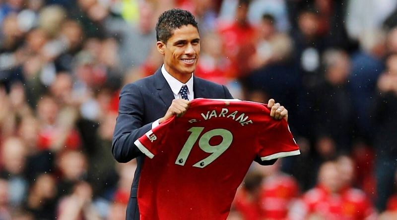 Varane's addition to Manchester United has added massive experience to the back line (Image via Manchester United)